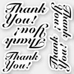 """[ Thumbnail: Elegant """"Thank You!"""" Stickers ]"""