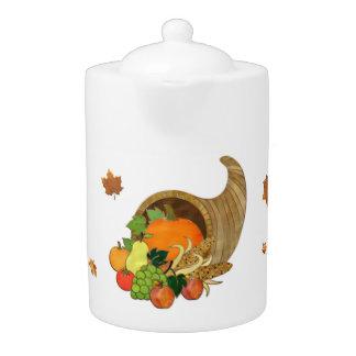 Elegant Thanksgiving KITCHEN DECOR TEA POT