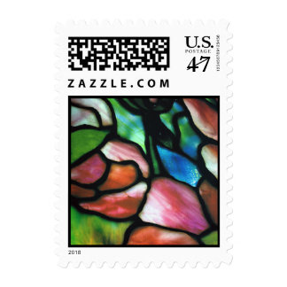 Elegant Tiffany Glass Postage