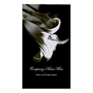 Elegant Tiger Lily Business Card