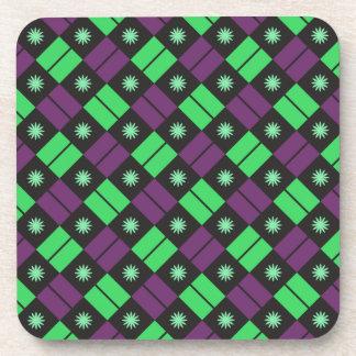 Elegant Tile Pattern Coaster