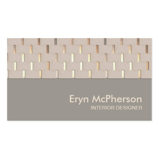 Elegant Tranquility Zen Modern Business card Pack Of Standard Business Cards