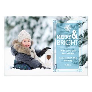 Elegant Transparency Holiday Photo Card Groupon