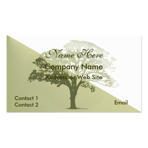 Tree service business card templates page2 bizcardstudio for Tree service business card