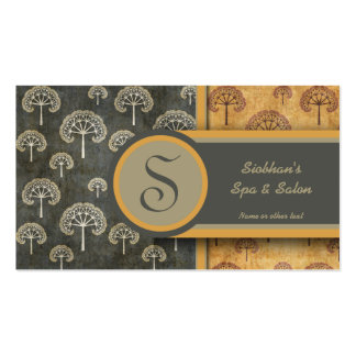 Elegant Tree Double-Sided Standard Business Cards (Pack Of 100)