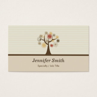 Elegant Tree of Life - Natural Theme Business Card