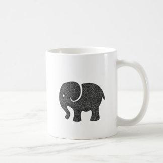 Elegant trendy girly cute elephant coffee mug