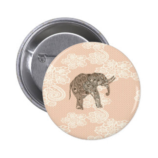 elegant trendy girly cute elephant lace pins