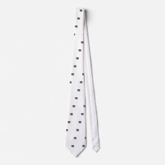 Elegant trendy girly cute elephant neck tie