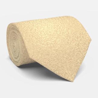 Elegant Trendy Modern Gold Foil Effect Neck Tie
