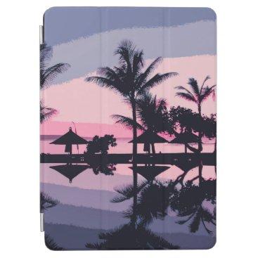 Elegant Tropical Trees Silhouette   iPad Air Case