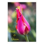 "Elegant Tulip Wedding Invitation 5"" X 7"" Invitation Card"