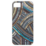 Elegant turquoise sequined iPhone 5 covers