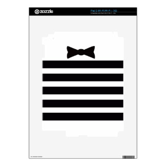 Elegant Tuxedo Black and With Pattern Gifts Decals For iPad 2
