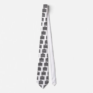 Elegant Tuxedo Black and With Pattern Gifts Tie