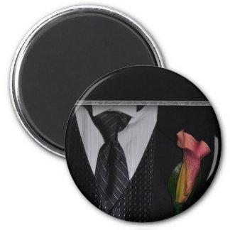 Elegant Tuxedo design Fridge Magnet