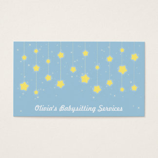 Baby Sitter Business Cards Templates Zazzle