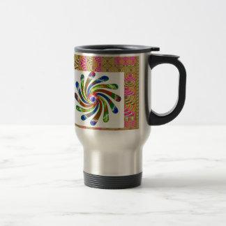 ELEGANT Twirl Wheel art Mug