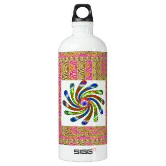 ELEGANT Twirl Wheel art SIGG Traveler 1.0L Water Bottle