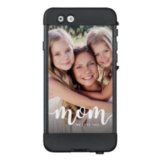 Elegant Typography and Photo for Mom LifeProof NÜÜD iPhone 6 Case
