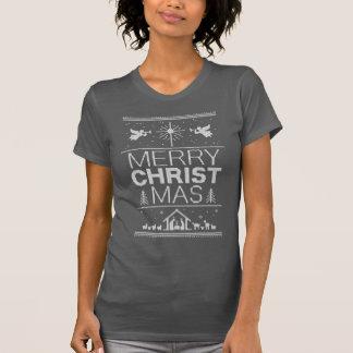 Elegant Ugly Christmas Sweater Christ Christian