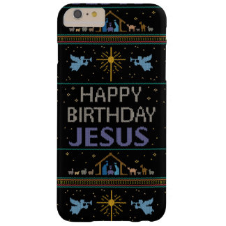 Elegant Ugly Christmas Sweater Christian Religious Barely There iPhone 6 Plus Case
