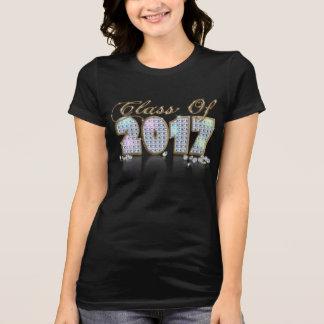 Elegant Unique Black Gold Diamond Class of 2017 T-Shirt