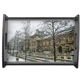 Elegant Vanity Tray featuring a scene from Paris