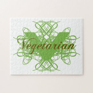 Elegant Vegetarian Jigsaw Puzzles