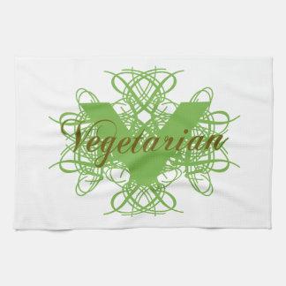 Elegant Vegetarian Towel