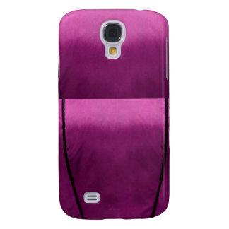Elegant Velvet Silk Fabric Look - Add your text Samsung Galaxy S4 Case