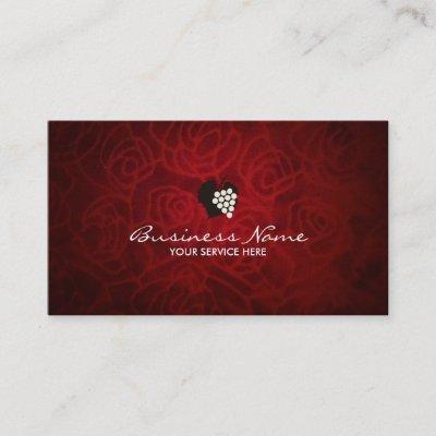 Elegant red velvet background business card zazzle colourmoves
