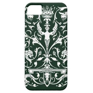 Elegant Victorian Angel in Dark Green steampunk iPhone SE/5/5s Case