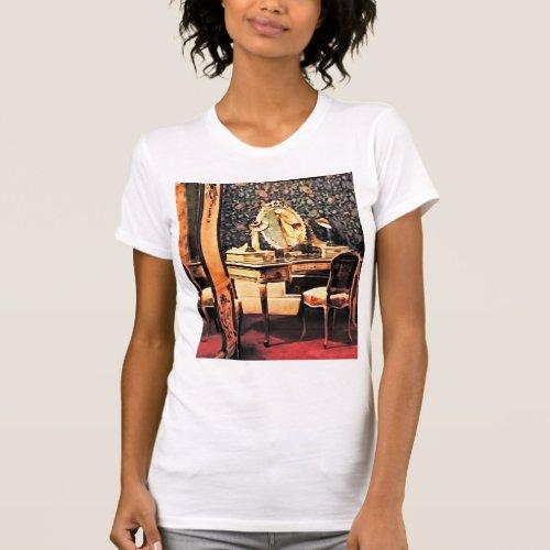 Elegant Victorian Bedroom T_Shirt