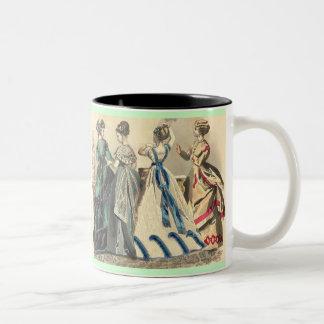 Elegant Victorian Fashions Mugs