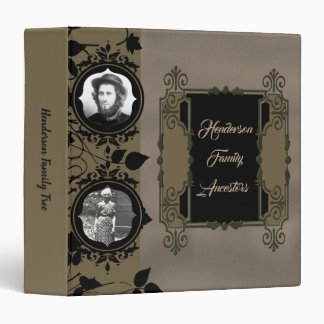 Elegant Victorian Photo Binder Album