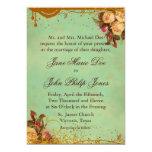 Elegant Victorian Rose Invitation