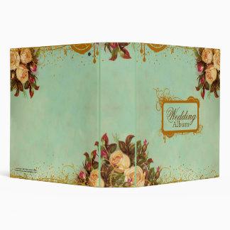 Elegant Victorian Rose Notebook 3 Ring Binders