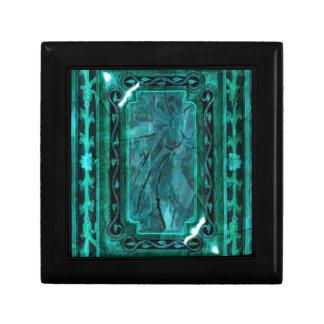 Elegant victorian vintage blue marble gift boxes