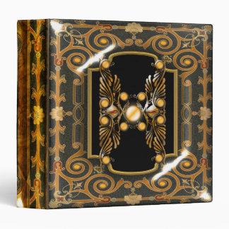 "Elegant Victorian vintage ""Jasper"" edwardian 3 Ring Binders"