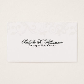 Elegant Vines Business Card