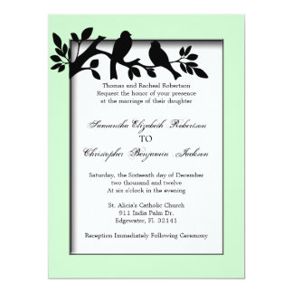 Elegant Vintage Blossoms Wedding Invite