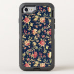 """Elegant Vintage Blue Rose Floral OtterBox Defender iPhone 8/7 Case<br><div class=""""desc"""">This is not only protective,  it&#39;s absolutely gorgeous! Designed with our most popular vintage floral pattern,  this is sure to get you many compliments. Great for anyone that loves vintage patterns or floral elegance.</div>"""