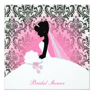 Elegant Vintage Bridal Shower Invitation