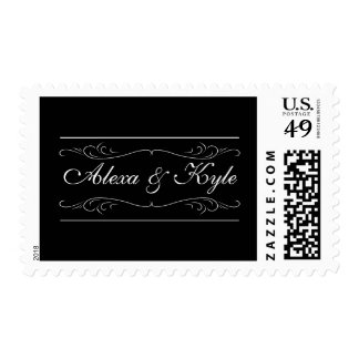 Elegant Vintage Customize With Your Name Stamps