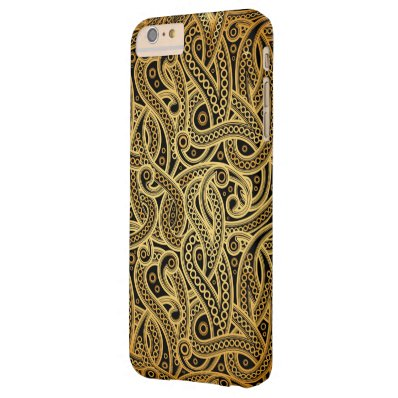 Elegant Vintage Damask Pattern Barely There iPhone 6 Plus Case
