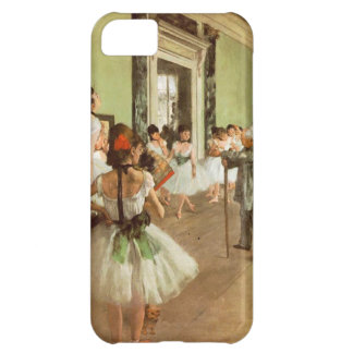 Elegant Vintage Degas The Dance Class, Ballerina Case For iPhone 5C