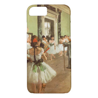 Elegant Vintage Degas The Dance Class, Ballerina iPhone 8/7 Case