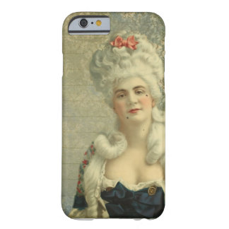 Elegant Vintage European Woman Powdered Wig Barely There iPhone 6 Case