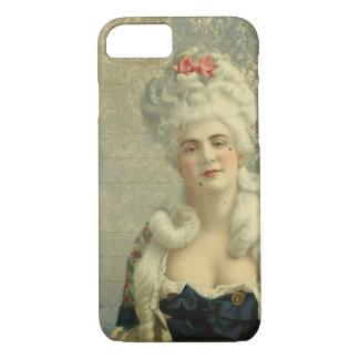 Elegant Vintage European Woman Powdered Wig iPhone 7 Case